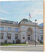 Wichita Carnegie Library Wood Print