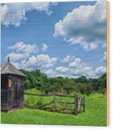 Wick Farm Wood Print