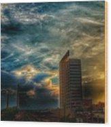 Wicked Sky  Wood Print