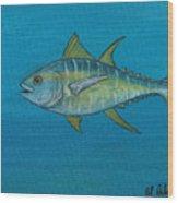 Wicked Tuna  Wood Print