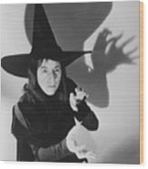 Wicked Witch Of The West Wood Print