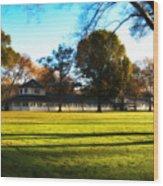 Widner Farm - Flourtown Wood Print