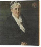 Wife Of David Menno Wood Print