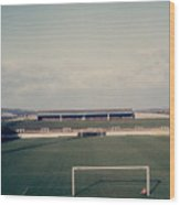 Wigan Athletic - Springfield Park - The Grassy Bank 1 - 1969 Wood Print