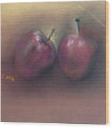 Wild Apples Wood Print