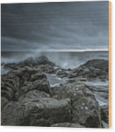 Wild Baltic Sea Wood Print