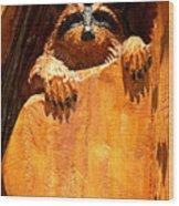 Wild Bandit  Wood Print