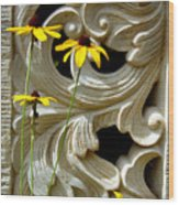 Wild Beauty Wood Print