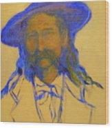 Wild Bill Hickok Wood Print