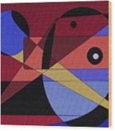 Wild Bird Wood Print