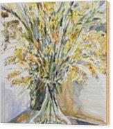 Wild Flowers #3 Wood Print