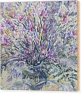 Wild Flowers #4 Wood Print