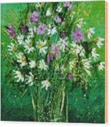 Wild Flowers 450150 Wood Print