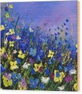 Wild Flowers 560908 Wood Print