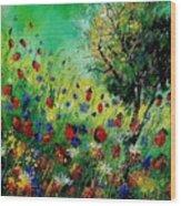 Wild Flowers 670130 Wood Print