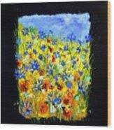 Wild Flowers 677130 Wood Print