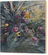 'wild Flowers' Wood Print