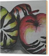 Wild Fruits  Wood Print