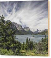 Wild Goose Island Glacier Park 2 Wood Print
