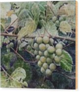 Wild Grapes Wood Print