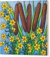 Wild Medley Wood Print