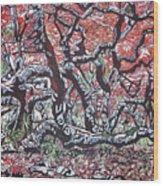 Wild Msasa Wood Print