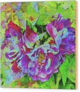 Wild Roses 3 Wood Print