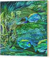 Wild Sargasso Sea Wood Print