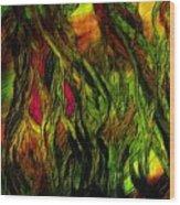 Wild Scape Wood Print