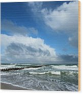Wild Sky Wood Print
