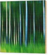 Wild Stripes Wood Print