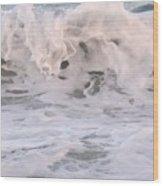 Wild Surf Wood Print