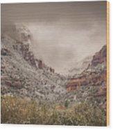 Boynton Canyon Arizona Wood Print