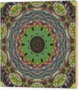 Wilder Flower Mandala Wood Print