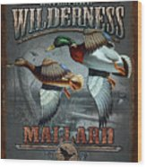 Wilderness Mallard Wood Print
