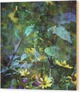 Wildflower Impression 4859 Idp_2 Wood Print