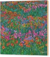 Wildflower Magic Wood Print