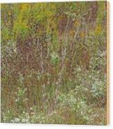 Wildflower Tapestry In Jefferson County Wood Print