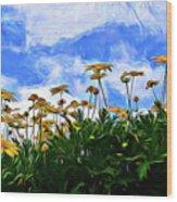 Wildflowers 11318 Wood Print