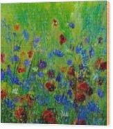 Wildflowers  560121 Wood Print