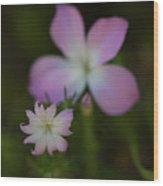Wildflowers Wood Print