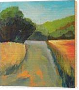 Wildwood Road Wood Print