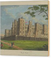Wilkinson, Robert  58 Cornhill Windsor Castle Published 7 Aug 1813 Wood Print