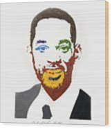 Will Smith Wood Print