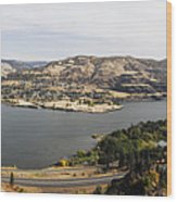 Willamette Valley Panorama Wood Print