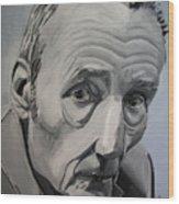 William Burroughs Wood Print