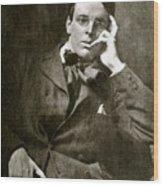 William Butler Yeats Wood Print