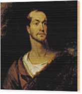 William Charles Macready As William Tell Wood Print