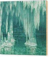 William Degouve De Nuncques 1867 - 1935 Belgian La Grotte Du Drac, Manacor Wood Print