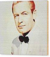William Holden, Vintage Movie Star Wood Print